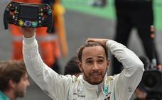 Quinta de Verstappen y quinto de Hamilton