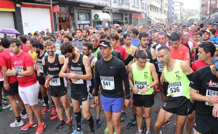 Aitor Etxebarria y Aratz Rodríguez, los más rápidos en Lasarte-Oria