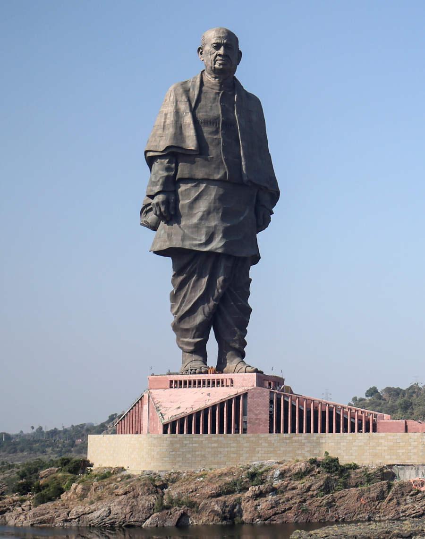 India ya tiene la estatua más alta del mundo