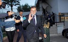 El mensaje de condolencia de Ortuzar a Rajoy por el fallecimiento de su padre