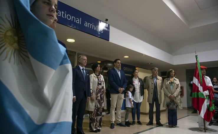 El lehendakari en la Semana Nacional Vasca en Argentina