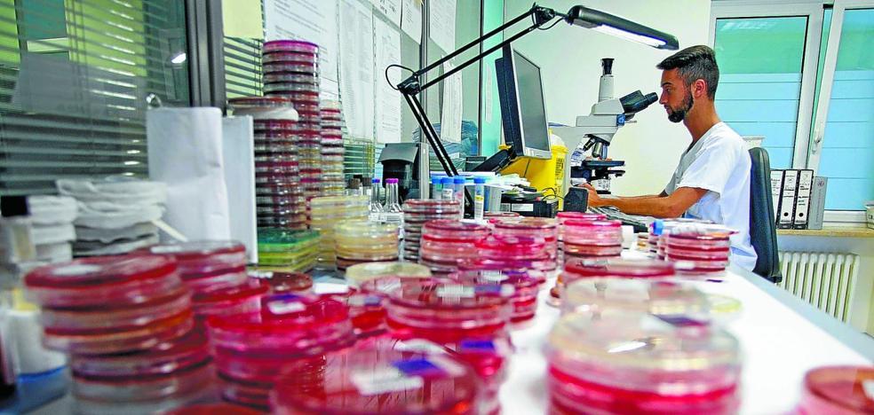 El laboratorio de los 41.000 análisis diarios