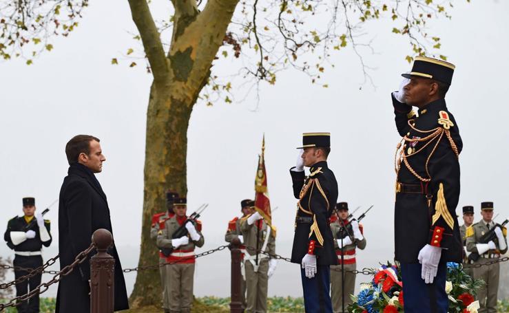 Francia recuerda a los soldados caídos