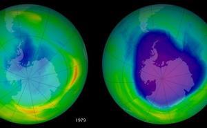 Apurka-apurka lehengoratzen jarraitzen du ozono-geruzak