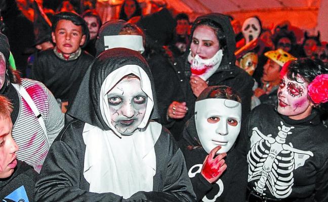 Halloween atemorizó Zikuñaga