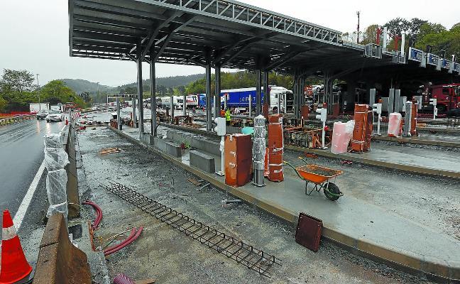 Un año de obras y 15 millones para las autopistas guipuzcoanas