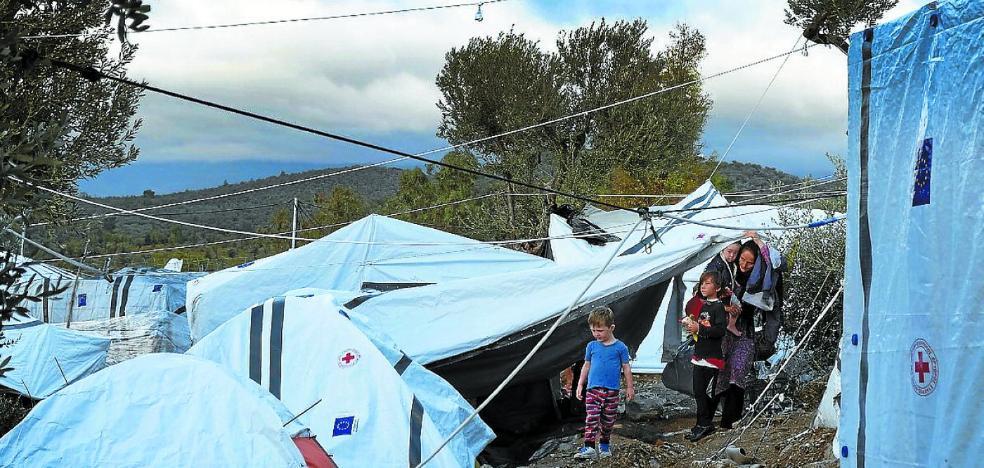 Dos saltos de récord hasta Lesbos