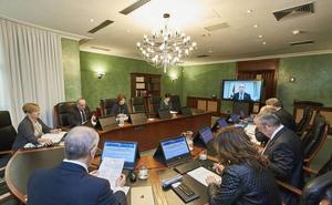 El lehendakari preside por Skype desde Chile el Consejo de Gobierno