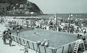 Conferencia a favor de la instalación de la primera piscina donostiarra