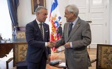 El lehendakari invita al presidente de Chile a visitar Euskadi
