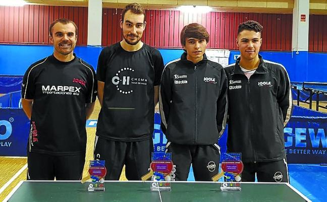 Cuatro jugadores del Marpex Beraun clasificados para el torneo estatal