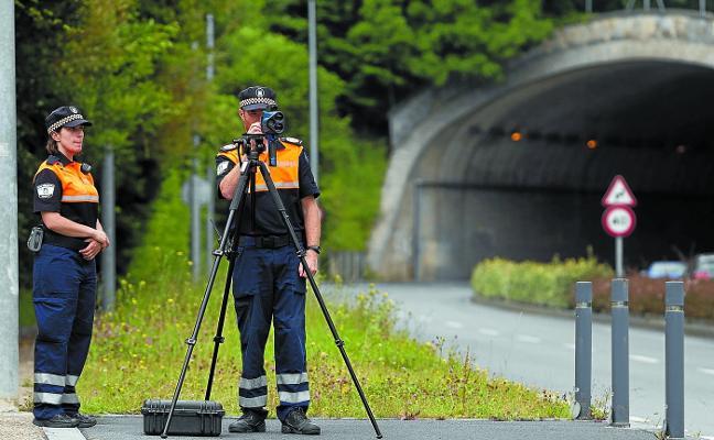 El radar móvil puso la semana pasada 636 multas en un dispositivo especial