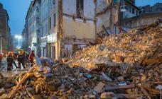 Derrumbes en Marsella