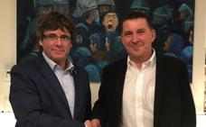 Otegi se reúne con Puigdemont y confía en que la sentencia sobre Bateragune ayude al procés