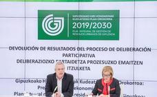 El nuevo Plan de Residuos de Gipuzkoa recoge unas 200 mejoras de 164 agentes