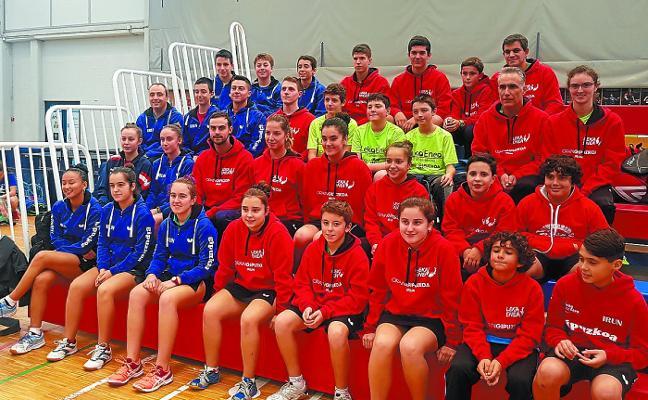 Los jóvenes del Leka Enea-Irun se trajeron seis medallas de Galicia
