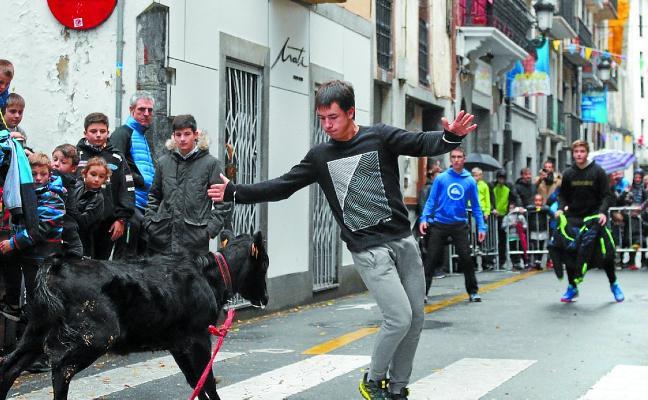 Asteburuan ospatuko dira San Martin jaiak Errebalean