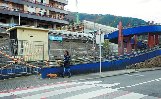 Las obras se acumulan en el entorno de la calle Trenbide