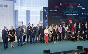 Cepyme premia el emprendimiento, la inclusión laboral y la eficiencia
