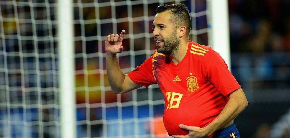 Jordi Alba vuelve a la selección