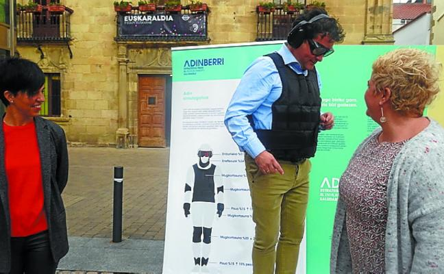 Zarautz se apunta al envejecimiento activo con el plan de calle 'FutureNi' de la Diputación