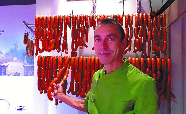 Javi Vadillo (Ganador del Concurso de Chorizo de Euskadi): «El secreto está en la calidad y la frescura»