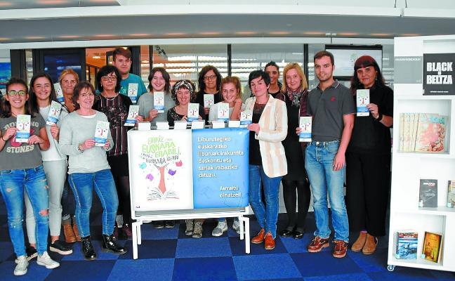 Diversos agentes se unen para impulsar la lectura en euskera