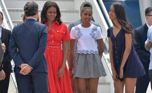Michelle Obama tuvo a sus dos hijas 'in vitro'