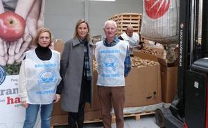 NEIKER-Tecnaliak 20.000 kilo patata eman dizkio Arabako Elikagai Bankuari