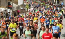 Los corredores llegan a Pasaia