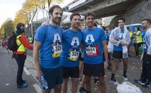 Xabi Prieto: «Hoy el objetivo no era competir, sino apoyar esta causa»