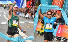 Jaume Leiva domina la Behobia - San Sebastián pero se le escapa el récord por tres segundos