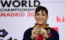 Sandra Sánchez, campeona del mundo