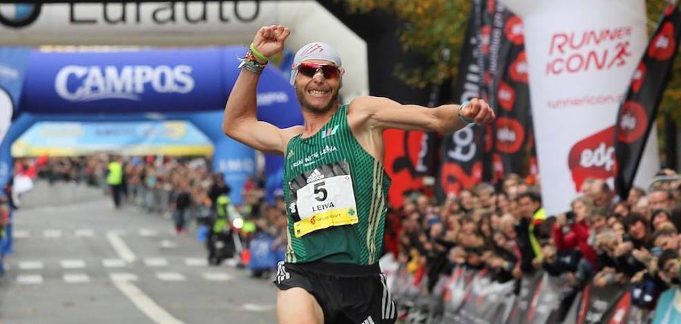 ¿Cuál fue el kilómetro más rápido de Jaume Leiva en la Behobia - San Sebastián? ¿Y el más lento?
