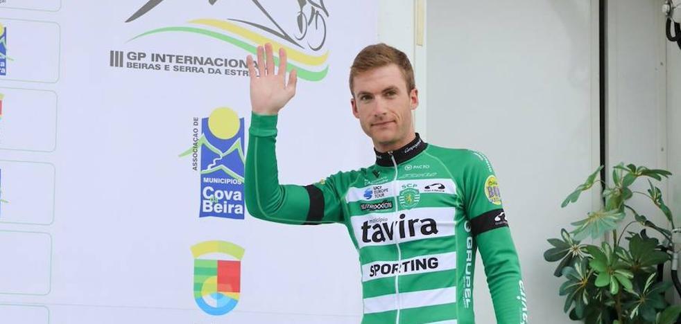 El cántabro Mario González, quinto fichaje del Euskadi Murias para 2019