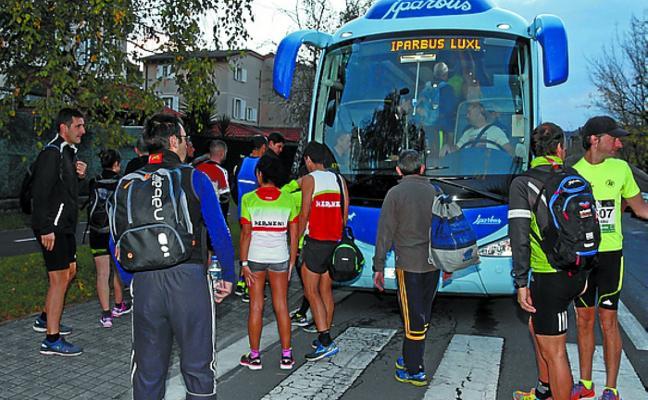 Un total de 154 hernaniarras completaron la Behobia-San Sebastián