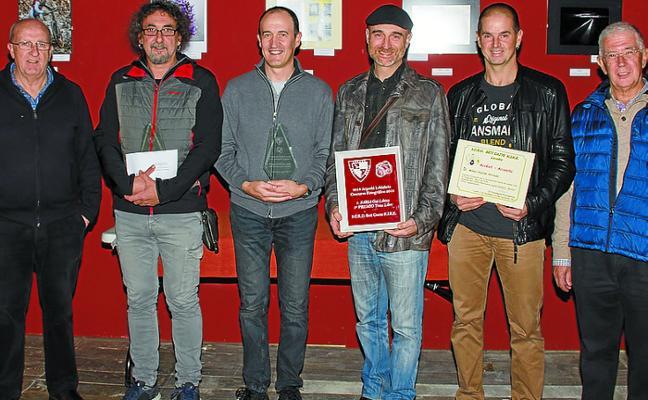 Oscar Gaskón, de Irun, ganador del Concurso de fotografía del Beti Gazte