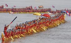 El barco dragón más largo del mundo