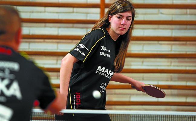 Jornada triple en Cataluña para el Marpex Beraun-Errenteria de tenis de mesa