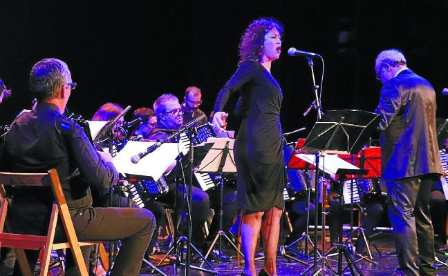 La ópera 'Aida' coge el relevo hoy al Festival de Acordeón