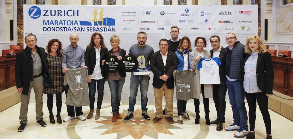 El 38% de los corredores del Maratón de San Sebastián serán extranjeros
