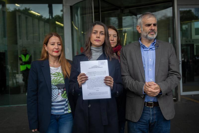 Ciudadanos acusa a Arran de promover el odio contra los jueces