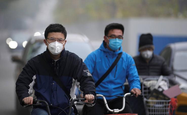 Pekín vuelve a sufrir por el smog