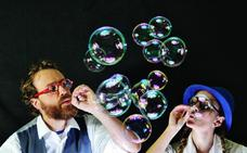 Música metal y burbujas para el fin de semana
