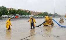Lluvias torrenciales en Kuwait