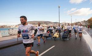 Jóvenes con ataxia telangiectasia participarán en el Maratón de San Sebastián
