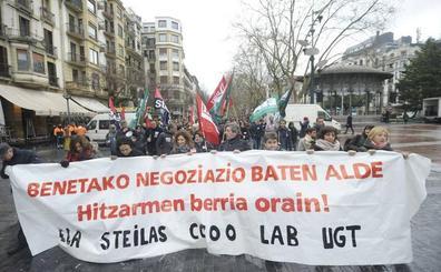 La falta de acuerdo entre patronal y sindicatos aboca a la red concertada a cuatro días de huelga