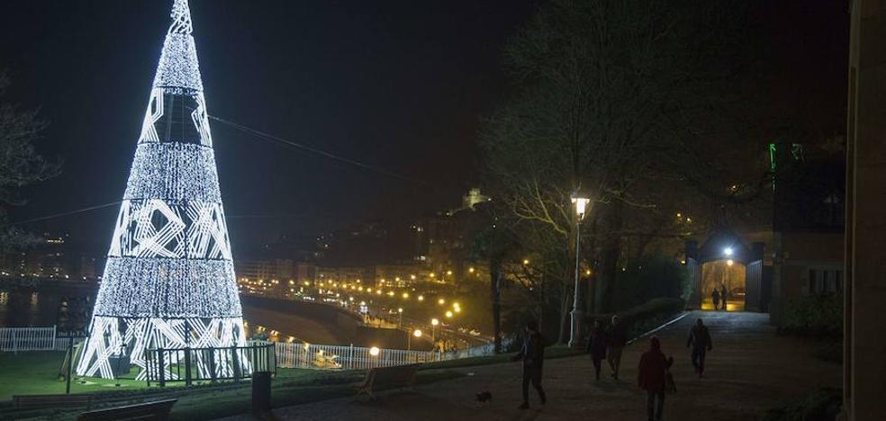 Las luces de Navidad en San Sebastián se encenderán el 1 de diciembre