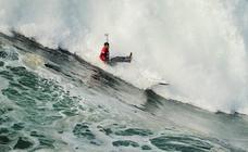 Las olas, protagonistas en Nazaré
