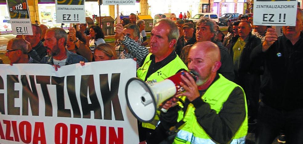 Emergencias muestra su rechazo a unificar el servicio en Bizkaia